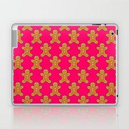 Pink Gingerbread Men Laptop & iPad Skin