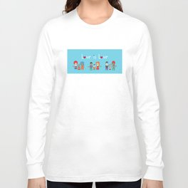 Love is Love Blue - We Are All Equal Long Sleeve T-shirt