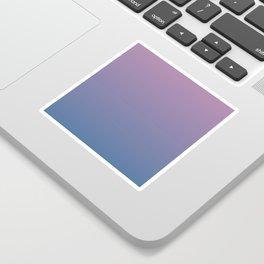 Gradient Dawn Pink Purple Blue Sticker