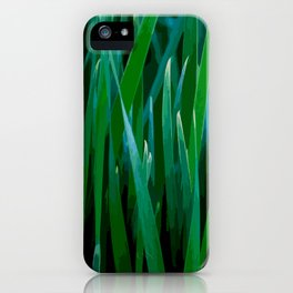 Love grass iPhone Case
