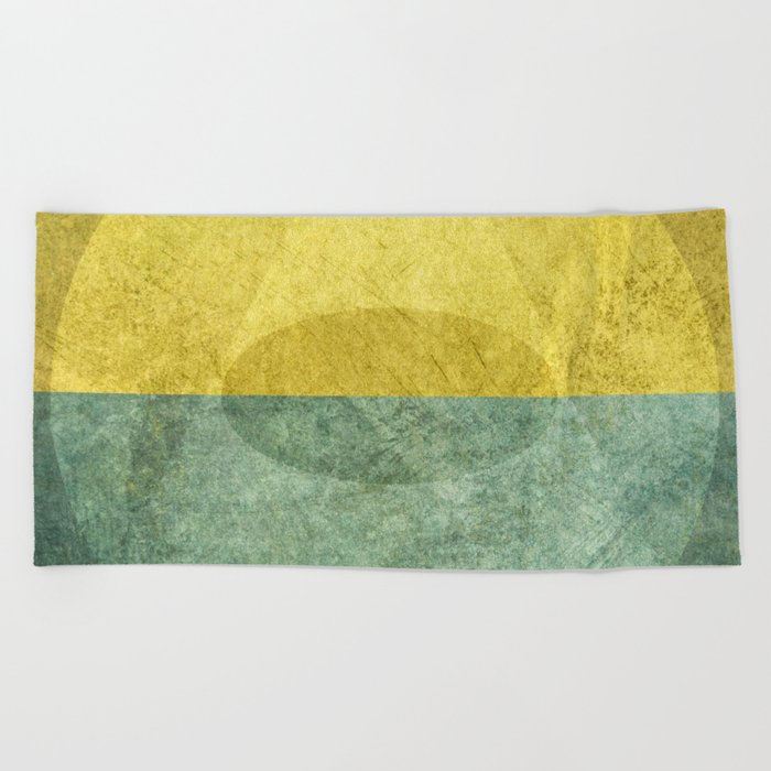 Signs and Affirmations Beach Towel