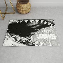 Jaws. Alternate version. Rug