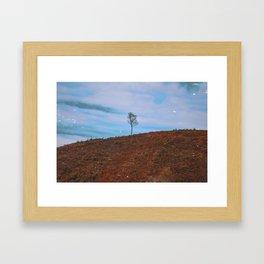 Vintage Mountain Framed Art Print