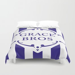 Are You Being Served? -Grace Bros. Logo Duvet Cover