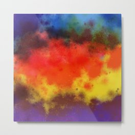 Sweet Galaxy of Color Metal Print