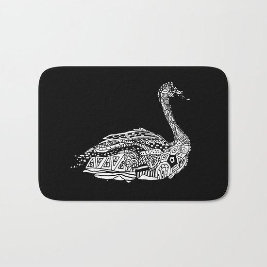 Dragon Swan  Bath Mat
