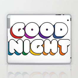 Good Night Laptop & iPad Skin