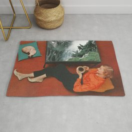 Coffee Table Talk Rug