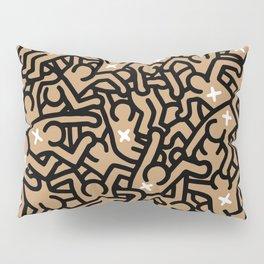 Keith Haring Variation #37 Pillow Sham