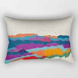 Landscape on Mars Rectangular Pillow