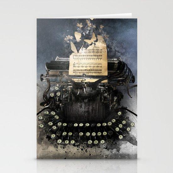Piandemonium - Writers' Waltz Stationery Cards
