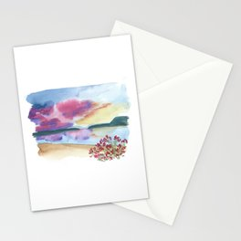 lake powell // utah arizona watercolor landscape Stationery Cards
