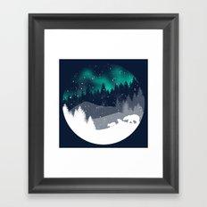 Stardust Horizon Framed Art Print
