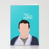 himym Stationery Cards featuring Marshall Ericksen HIMYM by Rosaura Grant