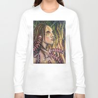 phoenix Long Sleeve T-shirts featuring phoenix by Beth Jorgensen