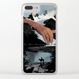 Handy 03 Clear iPhone Case