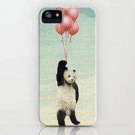 pandaloons iPhone Case
