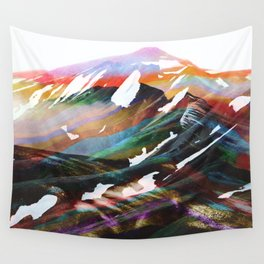 Abstract Mountains II Wall Tapestry