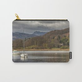 Windermere lakes and boats landscape Carry-All Pouch