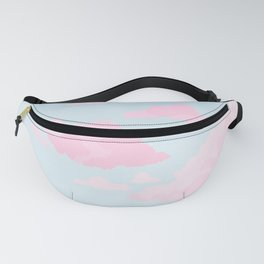Cotton Candy Clouds Fanny Pack