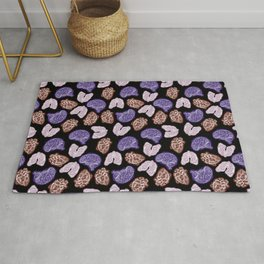 Lung Heart Brain - Color Rug