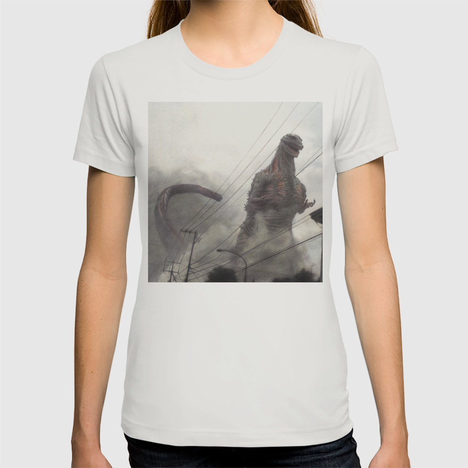 622ff654 Godzilla T-shirt by dendareloaded | Society6