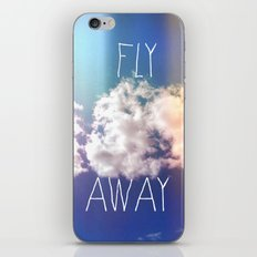 fly away in the sky iPhone & iPod Skin