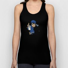 BLANKM GEAR - GIRLSPRAY T SHIRT Unisex Tank Top
