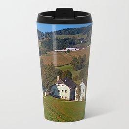 Beautiful traditional farmland scenery | landscape photography Travel Mug