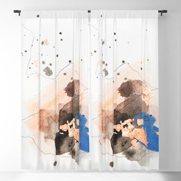 Divide #4 Blackout Curtain