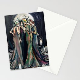 Moonlight Gathering Stationery Cards