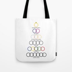 My Life, that's it ! Diamond and Business Tote Bag
