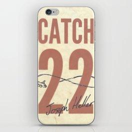 Catch 22 iPhone Skin