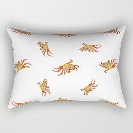 Crabs Photo Collage Pattern Design Rectangular Pillow