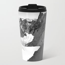 French Alps, Chamonix, France. Travel Mug