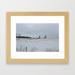 Stratford Winter Framed Art Print