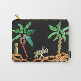 Safari Elephant Jewelry, Scanography Carry-All Pouch