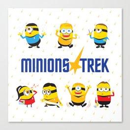 Minion Trek Canvas Print