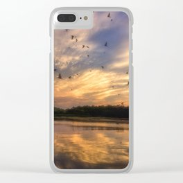 Coming in to Roost Clear iPhone Case
