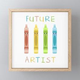 Future Artist Framed Mini Art Print