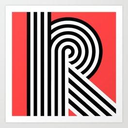 The Letter R Art Print
