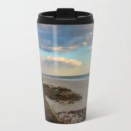 Clouds Over Holden Beach Travel Mug