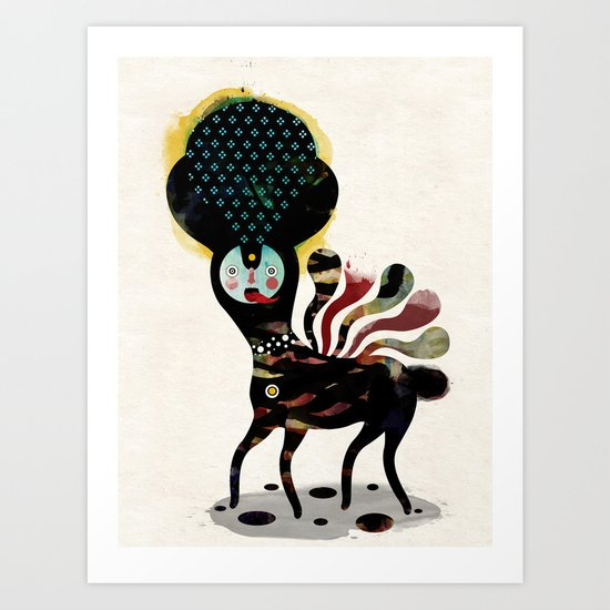 Muxxi & Alvaro Tapia / Duality Art Print