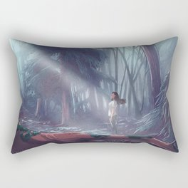 How to be a Werewolf: Malaya in the Forest Rectangular Pillow