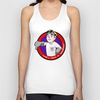 house md Tank Tops featuring Vault Boy MD by AriesNamarie