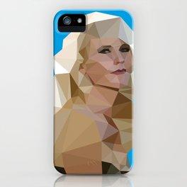 Cyan Blonde iPhone Case