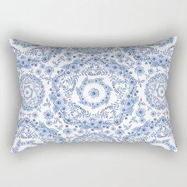 Blue Rhapsody Rectangular Pillow
