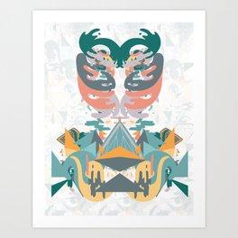 Ribs and the Illuminati Art Print