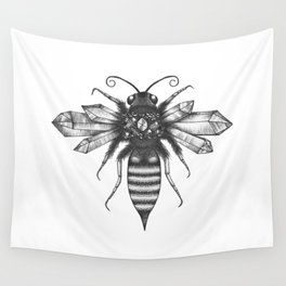 Quartz Queen Bee Wall Tapestry