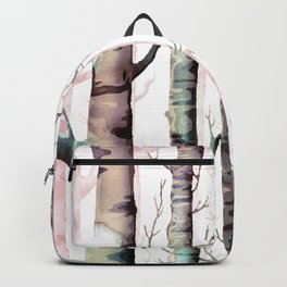 Birch Tree Forest Backpack